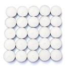 Jeco CTZ-008_12 White Citronella Tealight Candles (1,200pcs/Case) Bulk