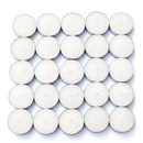 Jeco CTZ-100PW 100Pk Unscented White Tealight Candles