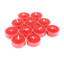 Jeco CVZ-12PCC 12Pk Cinnamon Cide Red Tealight Candles