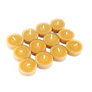 Jeco CVZ-12PPS 12Pk Pumpkin Spice Orange Tealight Candles