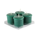 Jeco CVZ-8PFFF_12 Green Fresh Frasier Fir Votive Candles (96Pc/Case)