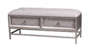 Jeco F-SF048 2 Drawer Bench