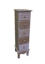 Jeco F-SF092 Wooden Cabinet With 5 Drawers