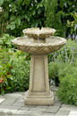 Jeco FCL057 Bird Bath Outdoor Water Fountain