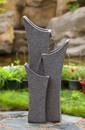 Jeco FCL096 Gray Sandstone Indoor/Outdoor Water Fountain