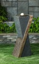 Jeco FCL169 Contemporary Fountain With Led Light