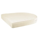 Jeco FS001-CS Ivory Single Chair Cushion