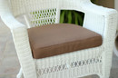 Jeco FS007-CS Brown Single Chair Cushion