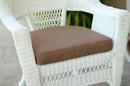 Jeco FS007-CS Brown Single Chair Cushion