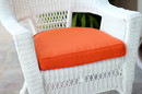 Jeco FS016-CS Orange Single Chair Cushion