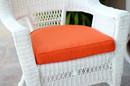 Jeco FS016-CS Orange Single Chair Cushion