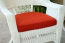 Jeco FS018-CS Brick Red Single Chair Cushion