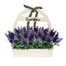 Jeco HD-BT127 Lavender Wood Potted