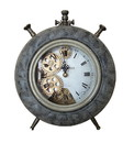 Jeco HD-C001-GR Gold And Gray Table Clock