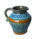Jeco HD-HADJ047 Blue & Yellow Pattern Pitcher