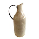 Jeco HD-HADJ052S Small Beige Pitcher With Metal Handle