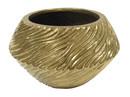Jeco HD-HAVS069 Ceramic Vase Gold Color