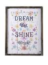 Jeco HD-WA074 Dream Big Shine Bright Plaque