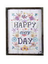 Jeco HD-WA075 Happy Every Day Plaque