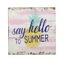 Jeco HD-WA081 Hello Summer Plaque