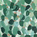Jeco HD-WD029 40 X 40 Green Leaf Oil Paint Wall Decor