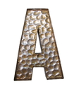 Jeco HD-WO003-A Honeycomb Patterned Letter A