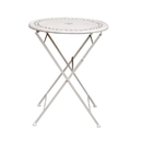 Jeco OF-BS004T White Metal Stamp Table