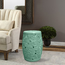 Jeco OF-GS007 18 Inch H Ceramic Garden Stool