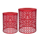 Jeco OF-ST008 Murry 2 Pcs End Table Set