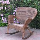 Jeco W00212-R Windsor Honey Resin Wicker Rocker Chair
