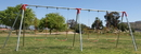Jensen Swing H104 Heavy 10' High - 4 S130 Swings - 2 Bay - EFF3 - Commercial / Residential