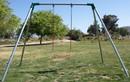 Jensen Swing S61C Standard 6' High - 1 5130 Swing - 1 Bay - EFF2 - Commercial