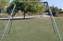 Jensen Swing S61NSI Indoor Standard 6' High - NO Swing - 1 Bay - EFF2 - SH114 - Residential