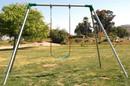 Jensen Swing S81 Standard 8' High - 1 S181 Swing - 1 Bay - EFF2 - Residential