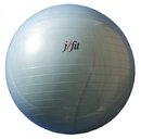 j/fit 20-0122 Gym Ball w/ Pump - 55cm, Pearl Blue