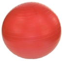 j/fit 20-1801 Anti-Burst Gym Ball w/ Pump - 45cm, Ruby Red
