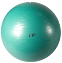 j/fit 20-3001 Anti-Burst Gym Ball w/ Pump - 75cm, Jade Green