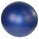 j/fit 20-3301 Anti-Burst Gym Ball w/ Pump - 85cm, Navy Blue