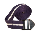 j/fit 80-6009 Yoga Strap 8' (Navy with Cream Sripe)