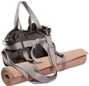 j/fit 80-9010 Yoga Mat Bag Shoulder Tote, Grey