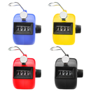 GOGO 100 Pcs Mixed Hand Tally Counter, ABS Tally Counter Clicker, Lap Counter Bulk Wholesale Lot