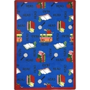 Joy Carpets 1419 Rug, Bookworm