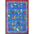 Joy Carpets 1422 Rug, Phonics Fun