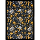 Joy Carpets 1484 Rug, Silver Screen