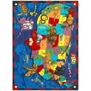 Joy Carpets 1499 Wild America Rug