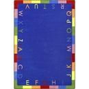 Joy Carpets 1543 Rainbow Alphabet Rug