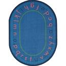 Joy Carpets 1553 Montessori Alphabet Rug