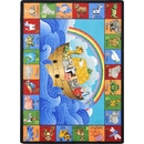 Joy Carpets 1610 Noah's Alphabet Animals Rug