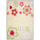 Joy Carpets 1658 Pretty Posies Rug