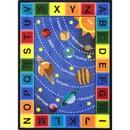 Joy Carpets 1677 Space Alphabet Rug